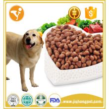 Factory export dog food beef flavor dry bulk dog food